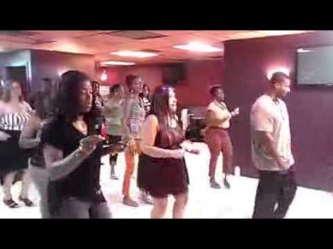 youtube blurred lines line dance