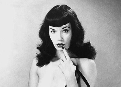 betty page tube