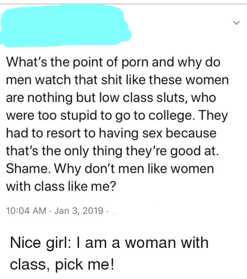 why do men like to watch porn