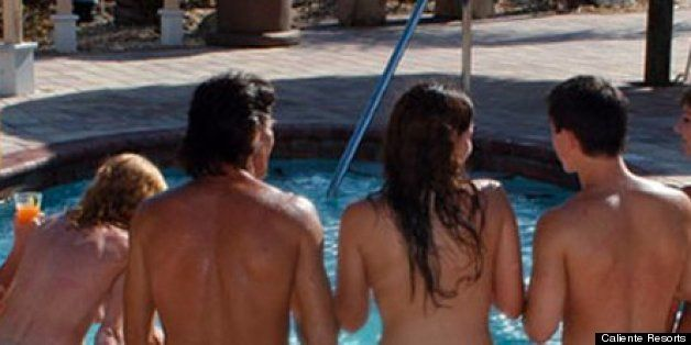 casual home nudist couples