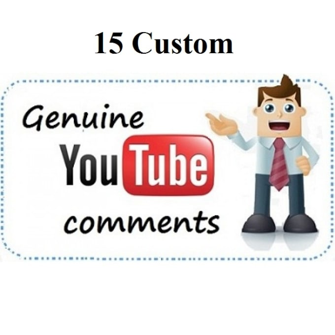 custom youtube comments