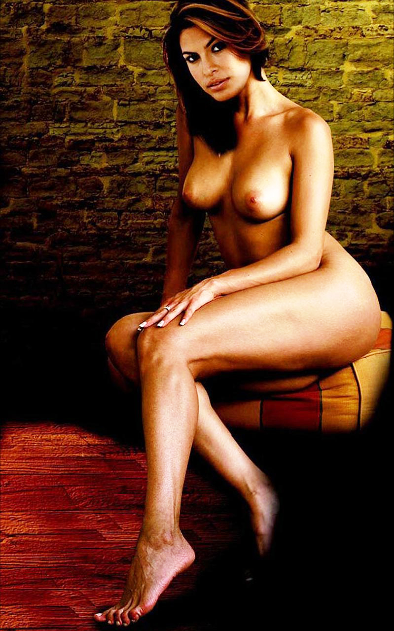 eva mendes real nude