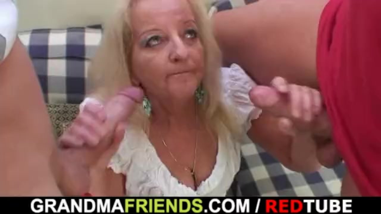 mature drinking leads to threesome