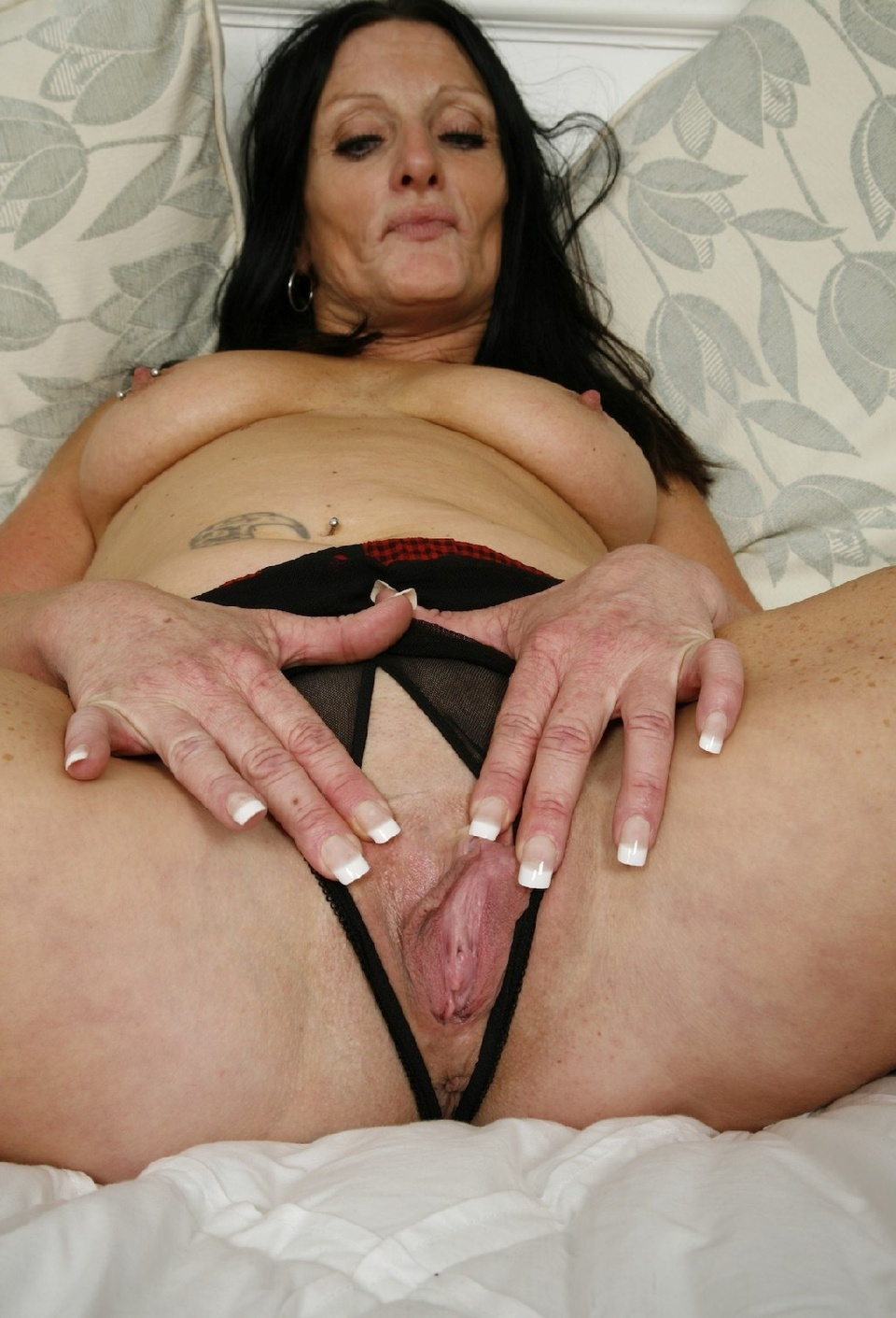 mature nude women in crotchless